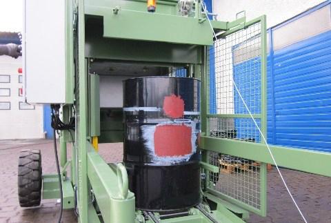 Fasspresse mobil Sondermaschinenbau